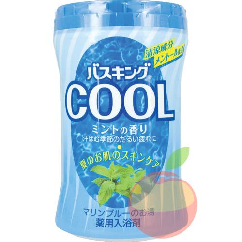 Hakugen Bath King Соль для ванны с охлаждающим эффектом аромат мяты 680 гр