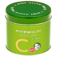 KAWAI Детский рыбий жир и витамин C жевательные таблетки с апельсиновым вкусом № 150