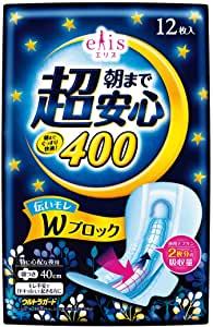 Elis Night Super Ультразащищающие ночные прокладки с крылышками, (Супер++) 40см, 12 шт